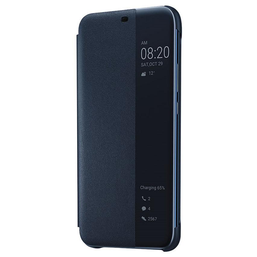 Official Huawei Mate 20 Lite Smart View Flip Case - Blue