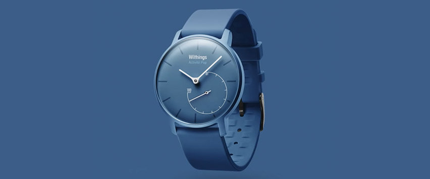 Withings Activité Pop Watch Hybrid Smart Watch & Fitness Tracker -Blue