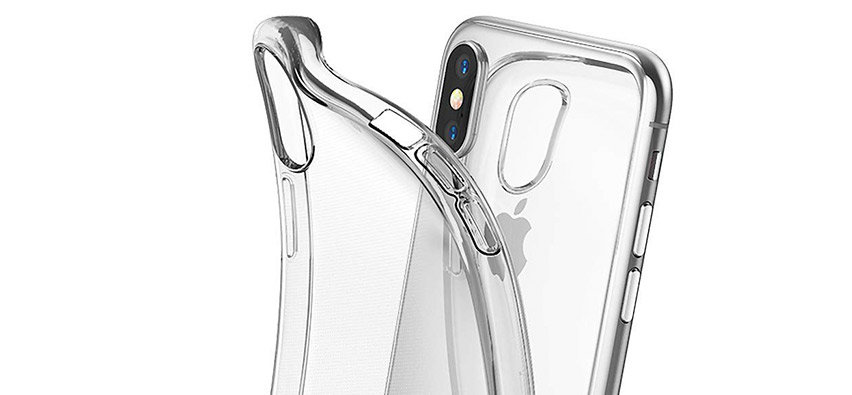 Rearth Ringke Air 3-in-1 iPhone XS Kit - Clear