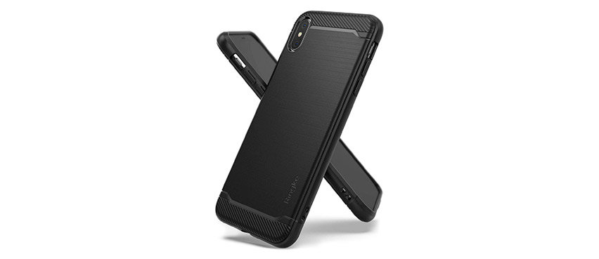 Rearth Ringke Onyx iPhone XS Max Tough Case - Black
