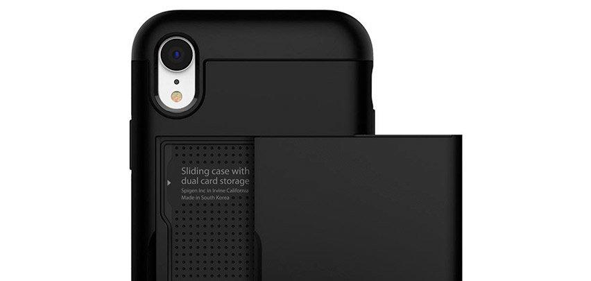 Spigen Slim Armor CS iPhone XR Case - Black