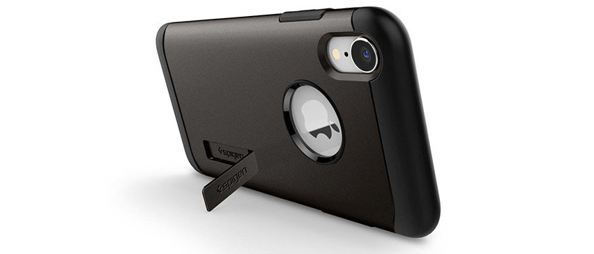 Spigen Slim Armor iPhone XR Tough Case - Gun Metal