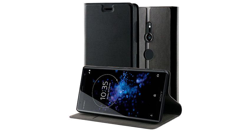 Roxfit Sony Xperia XZ3 Slim Standing Book Case - Black