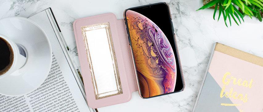 Ted Baker iPhone XS Max Mirror Folio Case - Arboretum