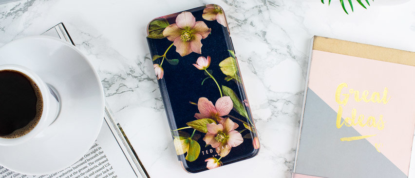 ted baker iphone xs max folio case