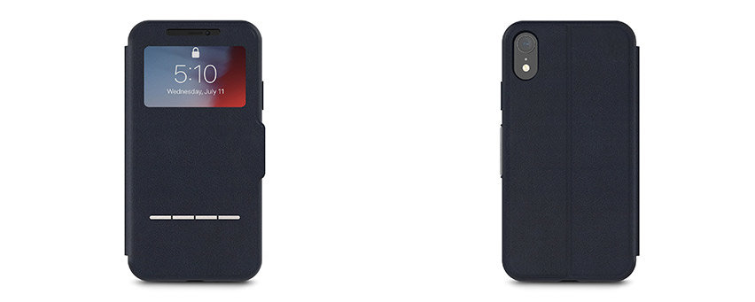 Moshi SenseCover iPhone XR Smart Case - Midnight Blue