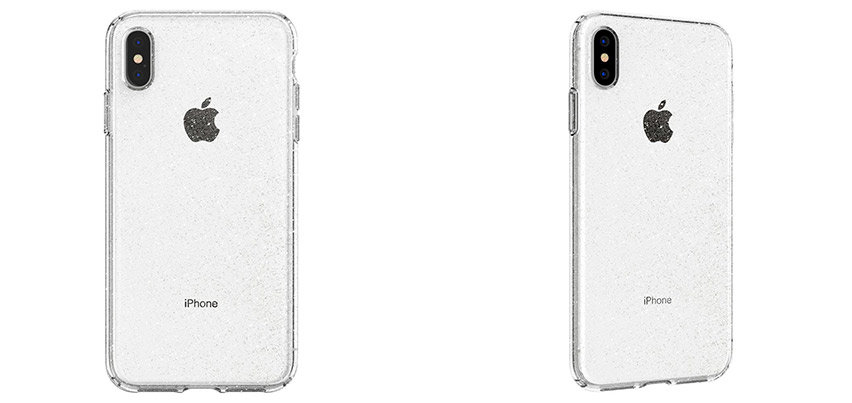 Spigen Liquid Crystal Glitter iPhone XS Max Case - Crystal Quartz