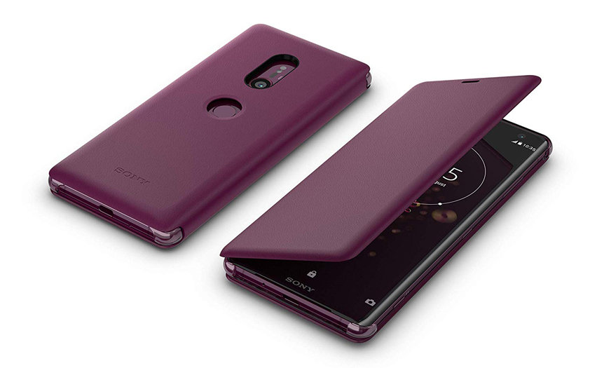 Official Sony Xperia XZX SCSH70 Style Cover Stand Case - Bordeaux Red