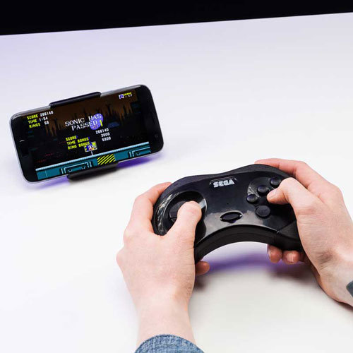 Sega Gaming Controller For Smartphones
