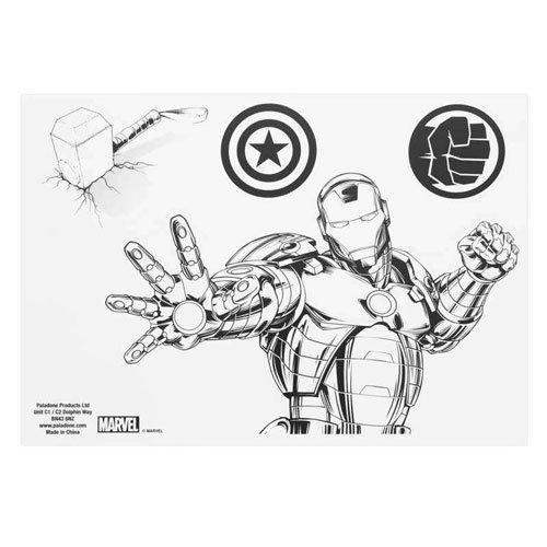Marvel  Comics Gadget Decals