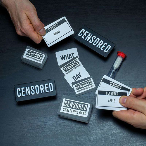 Censored Hilarious Card Game