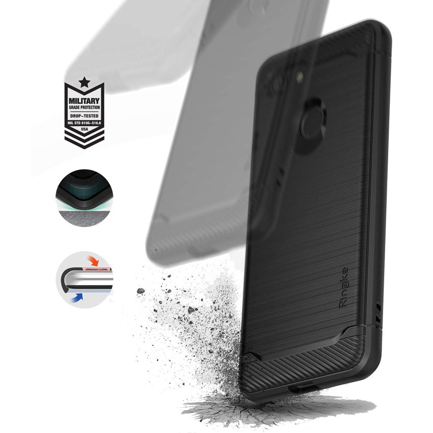 Rearth Ringke Onyx Google Pixel 3 Tough Case - Black