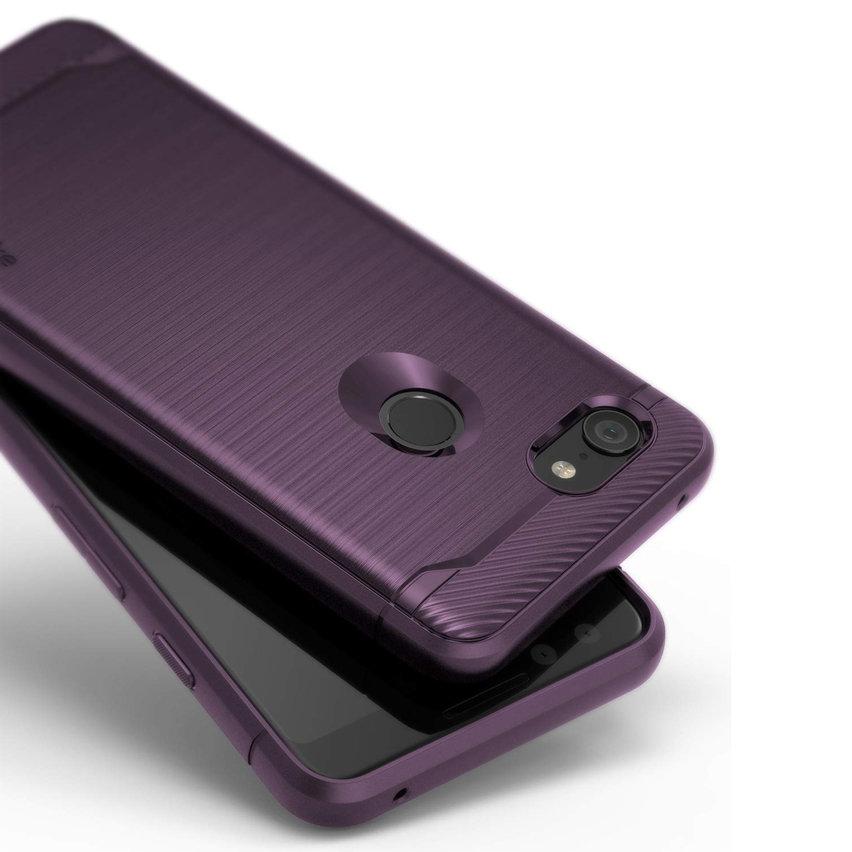 Rearth Ringke Onyx Google Pixel 3 Tough Case - Lilac Purple