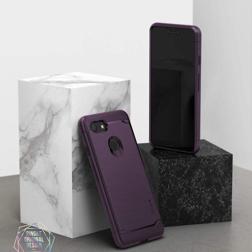 Rearth Ringke Onyx Google Pixel 3 XL Tough Case - Lilac Purple