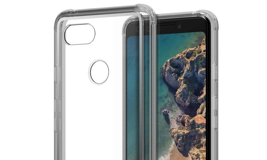 VRS Design Crystal Chrome Google Pixel 3 Case - Clear