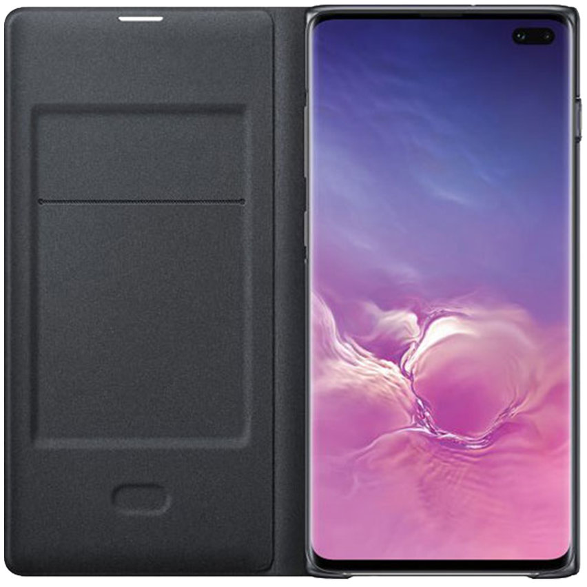 Official Samsung Galaxy S10 Plus LED View Cover Case - Black