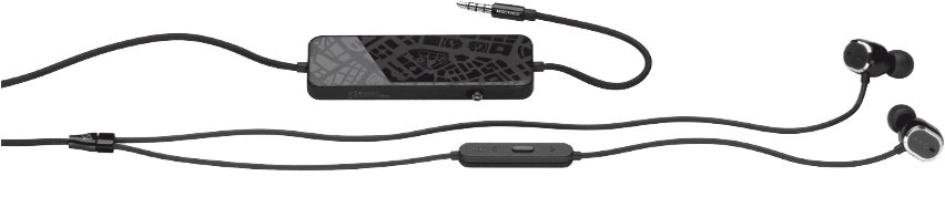 AKG N20NC In-ear Headphones with active noise cancelling