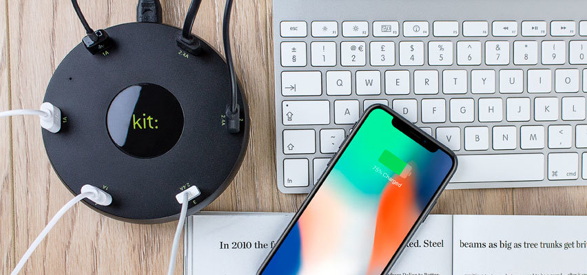 Kit Multi USB Charging Station - 6 Port -  10.2A