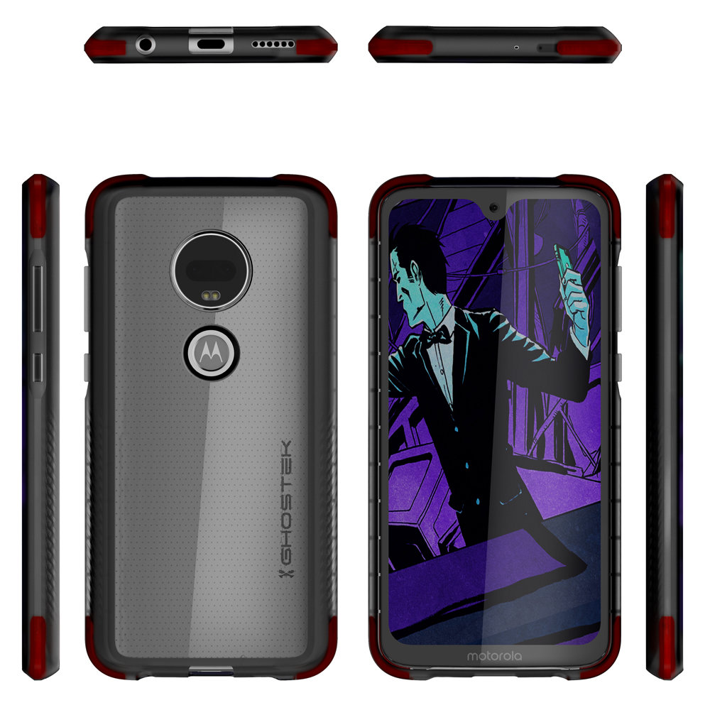 Ghostek Motorola Moto G7 Covert3 Case- Black