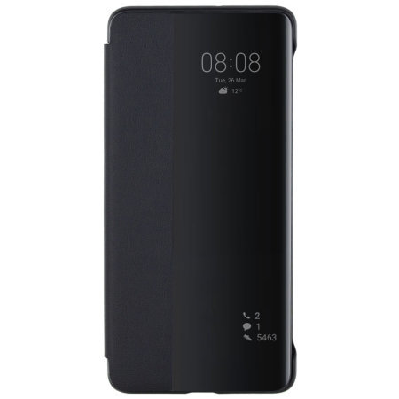 Official Huawei P30 Pro Smart Flip Case - Black