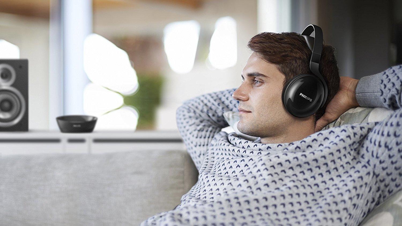 Philips Over-Ear Wireless TV Headphones