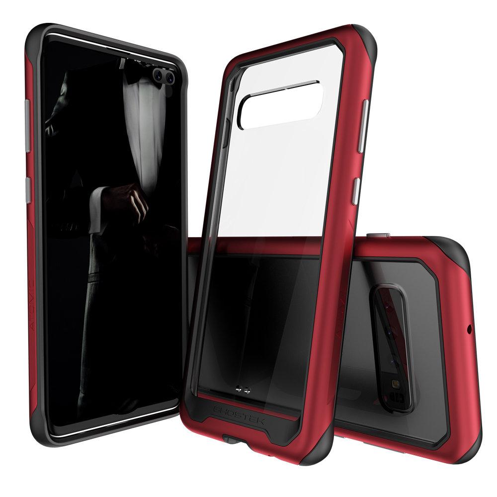 online retailer ac7c5 02432 Ghostek Atomic Slim 2 Samsung Galaxy S10 Plus Tough Case- Red