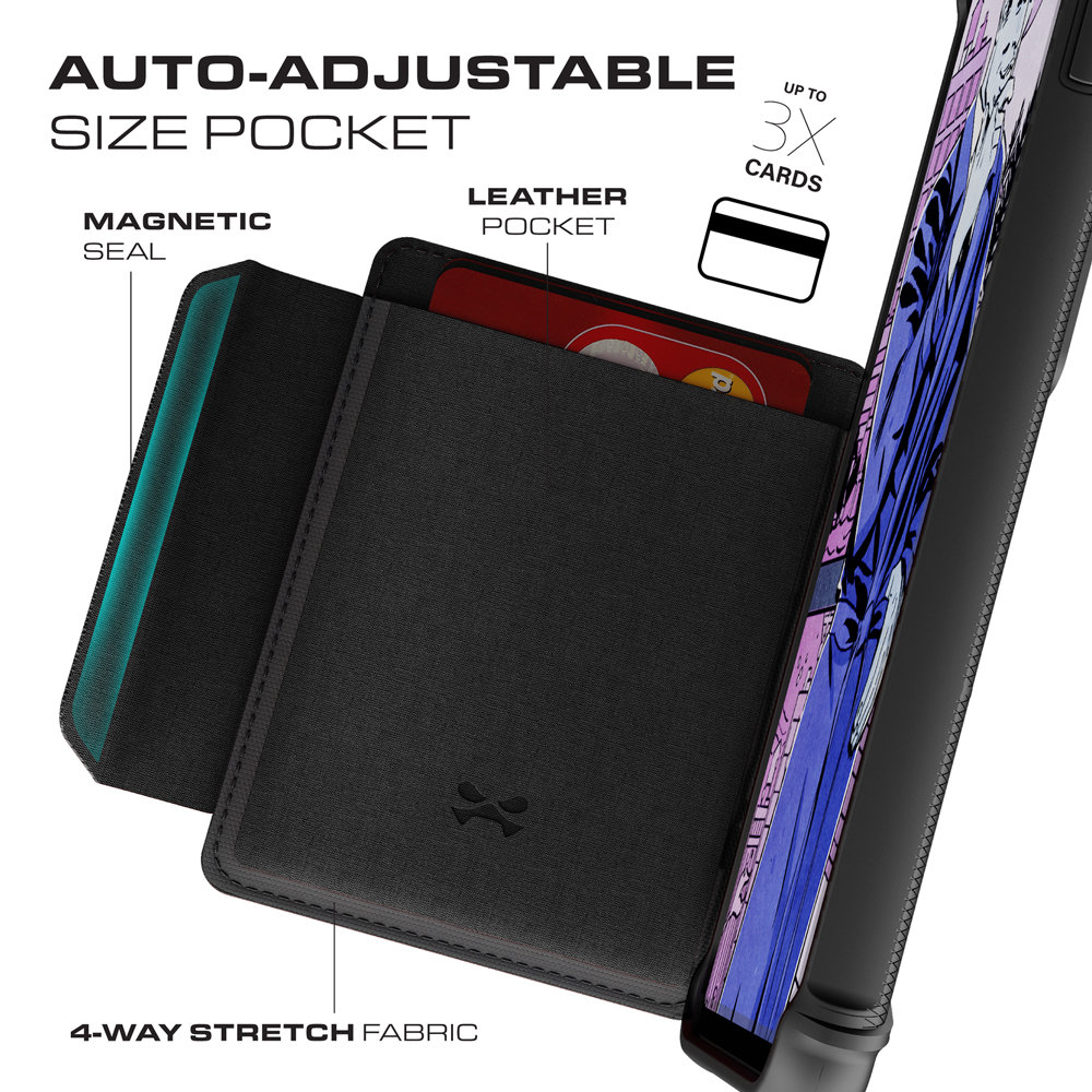 Ghostek Exec3 Samsung Galaxy S10 Plus Wallet Case-Gray