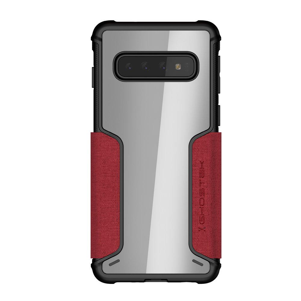 Ghostek Exec3 Samsung Galaxy S10 Wallet Case- Red