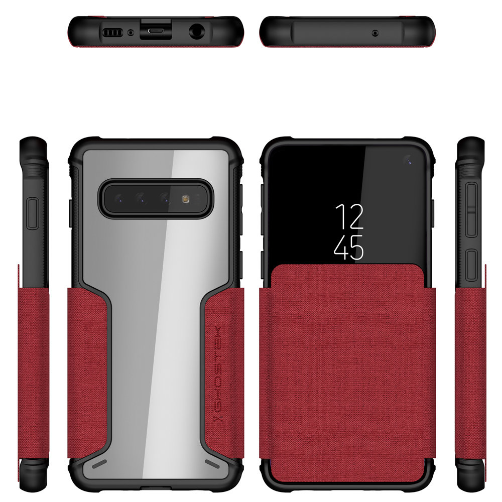 Ghostek Exec 3 Series iPhone XS Wallet Case - Black