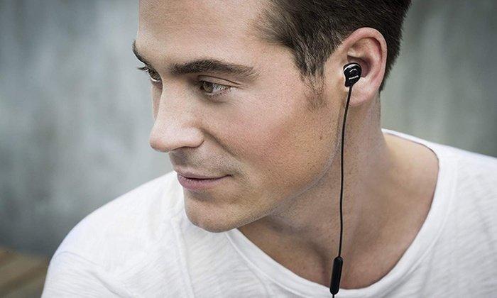 Philips Flite Hyprlite In-Ear-Kopfhörer mit Mikrofon - Schwarz