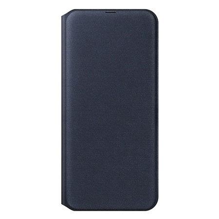 Official Samsung Galaxy A50 Wallet Flip Cover Case - Black