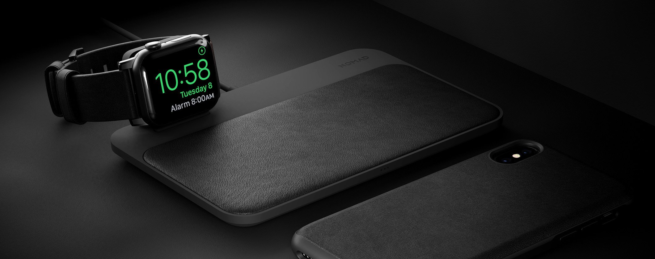 Nomad Wireless Qi Charging Base Station - Apple Watch Edition