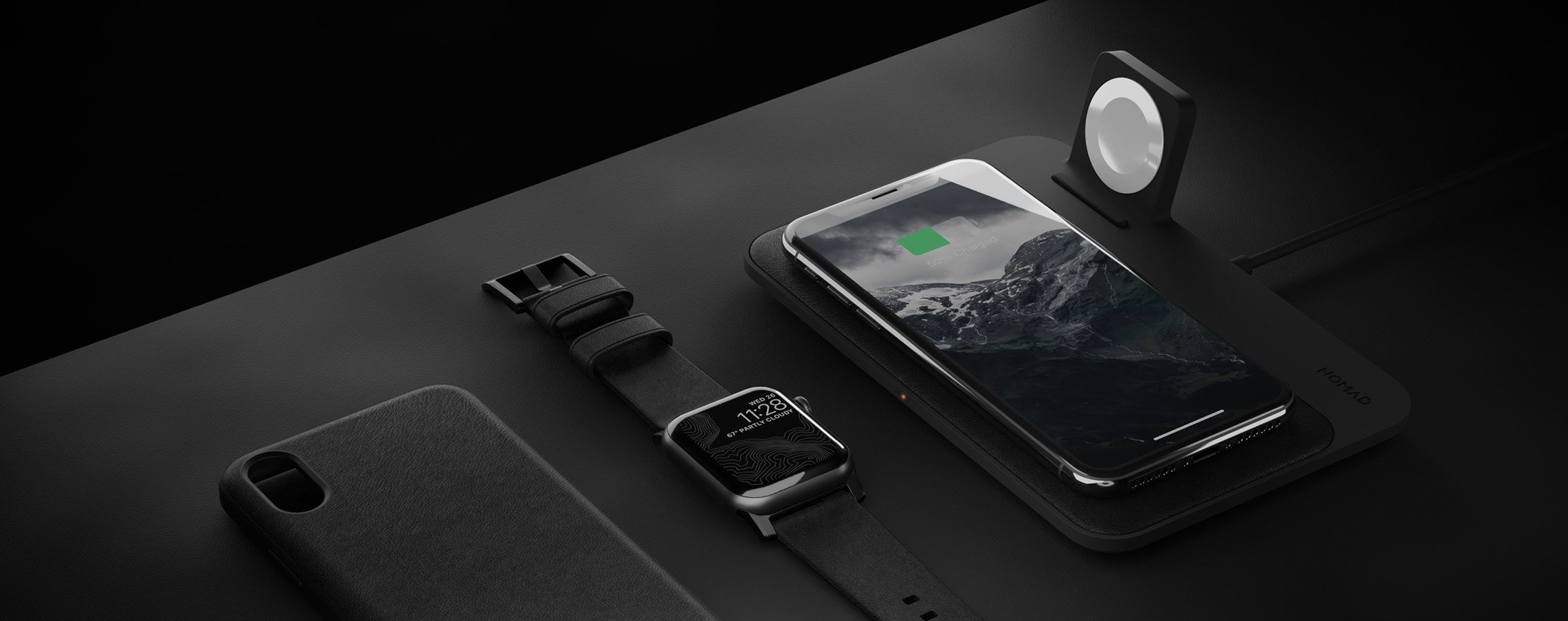 Base de carga inalámbrica Nomad Wireless - Edición Apple Watch