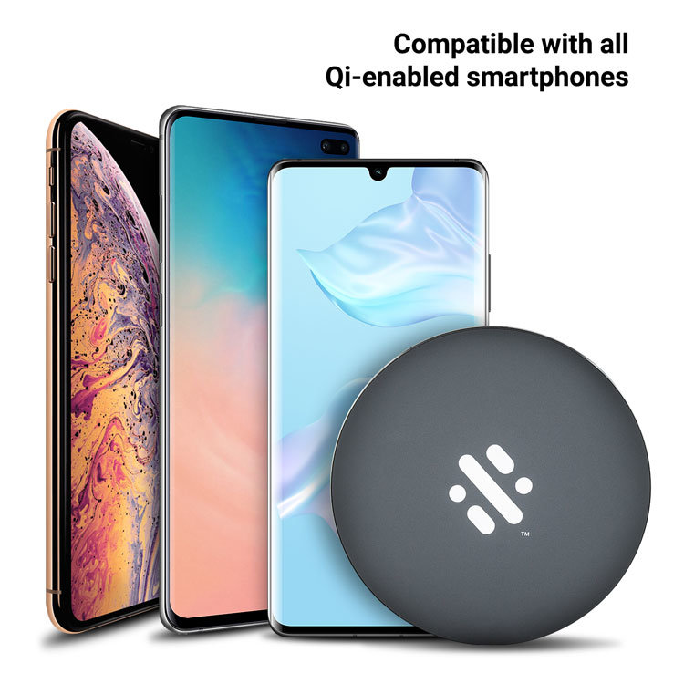 Thumbs Up Base Fast 10W Wireless Charger Pad