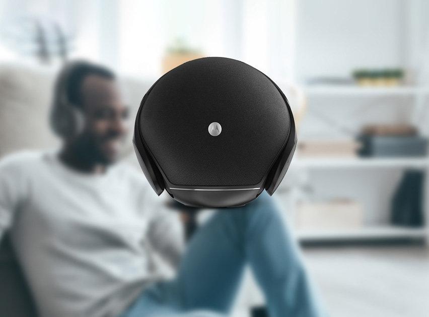 Motorola Sphere 2-in-1 Stereo Bluetooth Speaker and Headphone Set