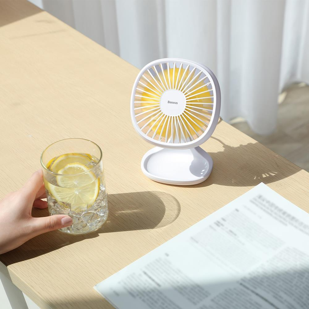 Baseus Desk Fan - White