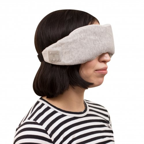 Manniska Relax Comfy Wireless Music Sleep Mask - Grey