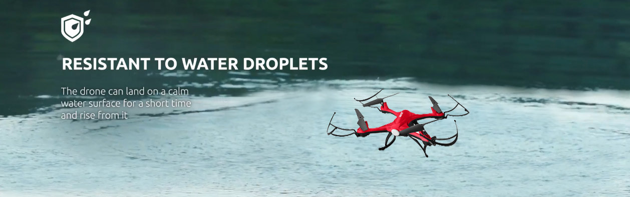 ACME X8200 Immortal Drone - Red