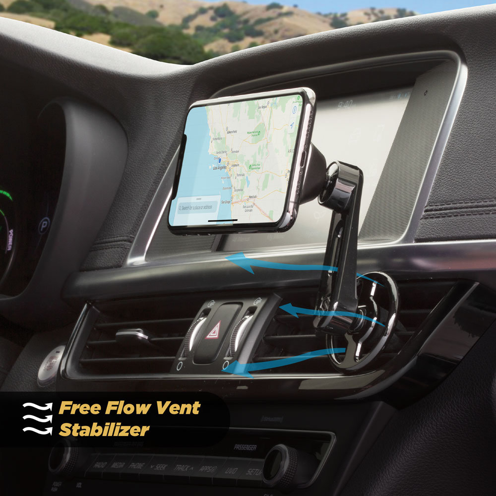Scosche MagicMount Freeflow Pro Magnetic Car Vent Phone Holder