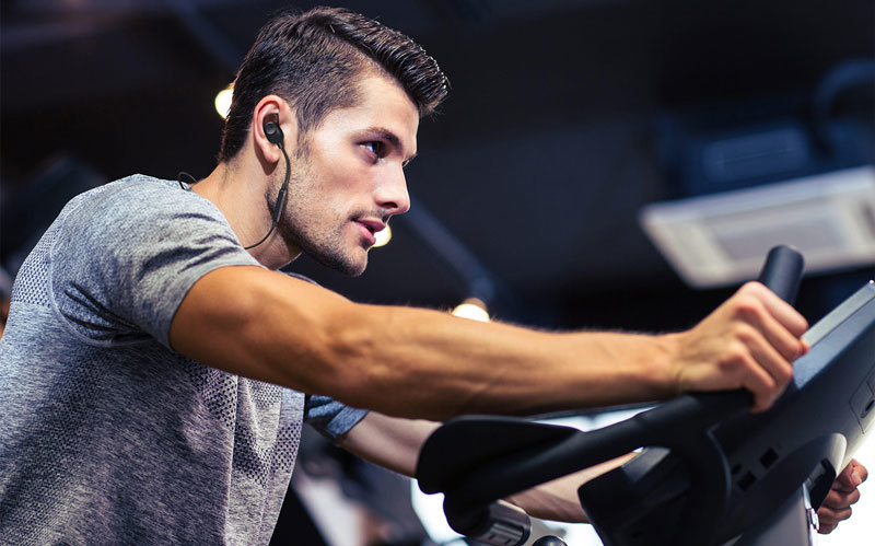 Motorola Verve Loop Sports APTX -langattomat kuulokkeet –Musta / Hopea