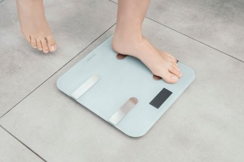 Forever Bluetooth Digital Analytical Smart Body-Weight Scale - White