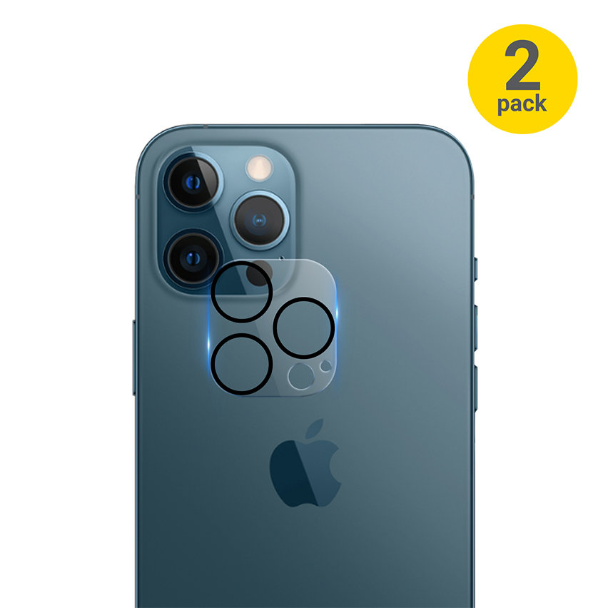 Olixar iPhone 13 Pro Clear Case, Screen & Camera Protector Pack
