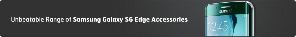 Samsung Galaxy S6 Edge Accessories Banner