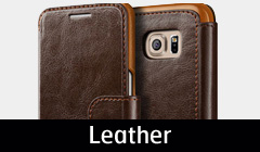 Galaxy S7 Edge Leather Cases