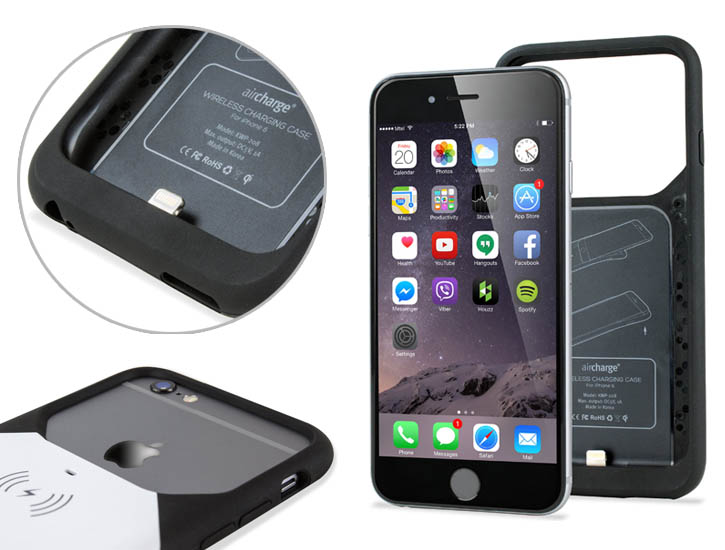 online store ed4a1 9c9dd aircharge MFi Qi iPhone 6S / 6 Wireless Charging Case