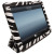 SD Tabletwear Smart Cover Style Case for iPad 4 / 3 / 2 - Zebra