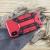 Olixar XTrex iPhone XS / X Rugged Card Kickstand Case - Red 2