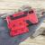 Olixar XTrex iPhone XS / X Rugged Card Kickstand Case - Red 5